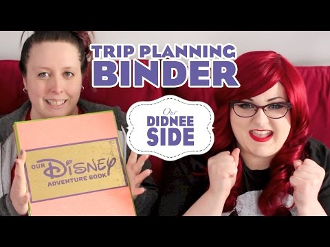 OUR WDW TRIP PLANNING BINDER | Our Didnee Side