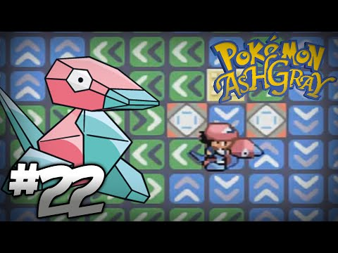 Let's Play Pokemon: Ash Gray - Part 22 - Porygon, Santa Claus, & Pikachus