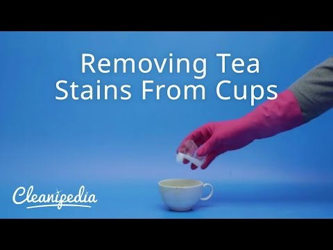 Removing Tea Stains From Cups