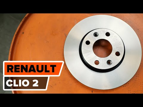 How to replacefront brake discs and front brake padsonRENAULT  CLIO 2 TUTORIAL | AUTODOC