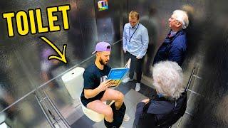 THE BEST ELEVATOR PRANK IN INTERNET HISTORY!!