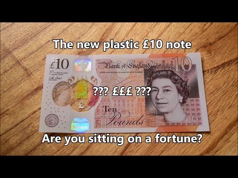 Brand new Polymer Ten Pound Banknote - Why so special and how to tell?