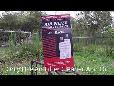 How To Clean Spectre Air Flilter