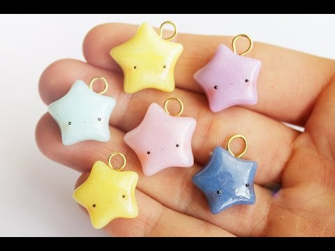 How to Shape Stars (No Mold!) │ Polymer Clay Tutorial