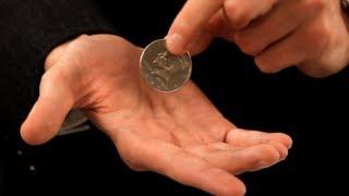How to Palm a Coin | Coin Tricks