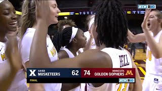 Xavier at Minnesota - Women