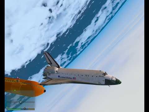GTA 5 PC Space Shuttle Atlantis Liftoff