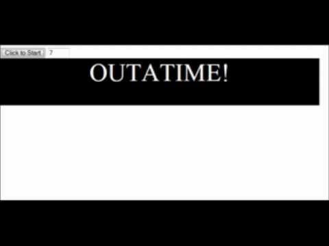 javascript: Countdown Timer