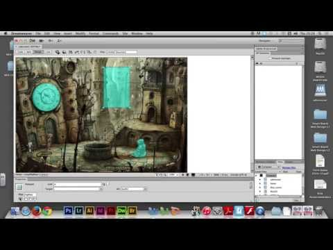 Week 07/05 - Working with HOTSPOT in Adobe Dreamweaver