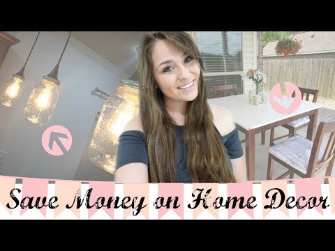 How to save money with Home Decor! Tips, Tricks, & Hacks