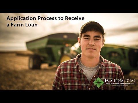 Application Process to Receive a Farm Loan