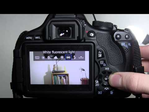 How to White Balance a Canon t3i