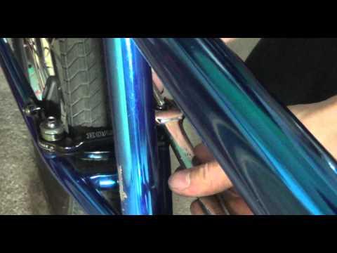 How to set a gyro brake on a bmx