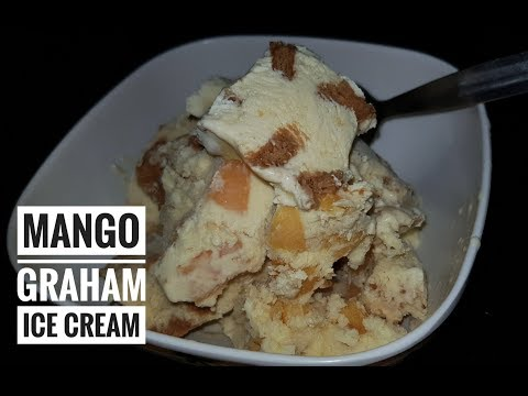 Mango Graham Ice Cream