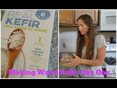 Making Water Kefir-Day One