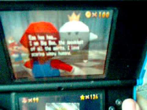 How to get Mario Luigi Wario and bunnies on super Mario 64 DS