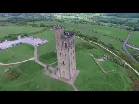 Castle Hill Drone Flight Huddersfield