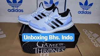 d06d00968 adidas ultra boost game of thrones white walkers on feet Videos ...