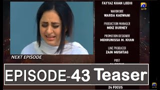 Munafiq Episode 43 Teaser | Har Pal Geo