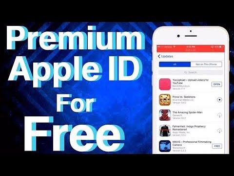 FREE APPLE ID!
