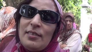 #x202b;سكان كيش الوداية المطرودون من بيوتهم و أراضيهم يحتجون أمام مقر وزارة الداخلية#x202c;lrm;