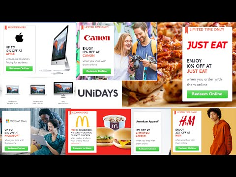 How to Sign up for Unidays!! Fast and simple tutorial! Get amazing discounts now!