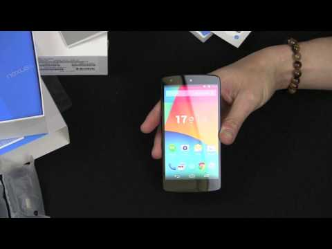 Google Nexus 5 Unboxing and First Look