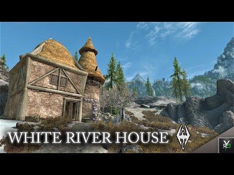 WHITE RIVER HOUSE: Player Home!!-Xbox Modded Skyrim Mod Showcase
