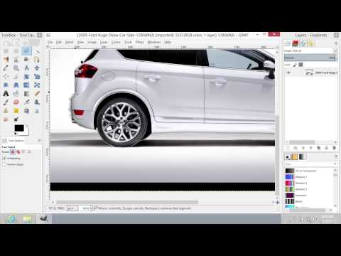 How to Cut and Paste Image in GIMP