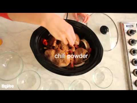 How To Make Slow-Cooked Chicken Fajitas