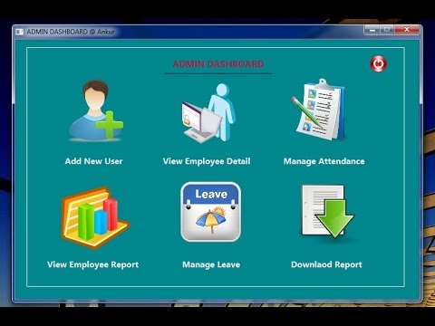Attendance Mgmt. System Project in JAVA Desktop Application--ANKUR GUPTA
