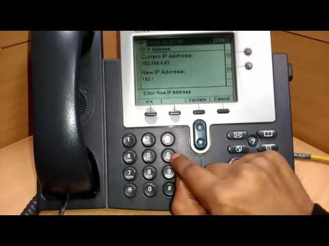 How to Change IP OF CISCO 7942g phone | IP Address | Cisco | Network Configuration