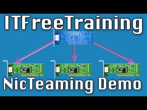NIC Teaming Demonstration