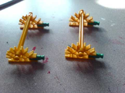 How to build a Knex roller coaster out of the standard normal pieces!!!!