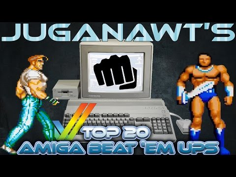 Top 20 Amiga Beat Em Ups / Brawlers of All Time!