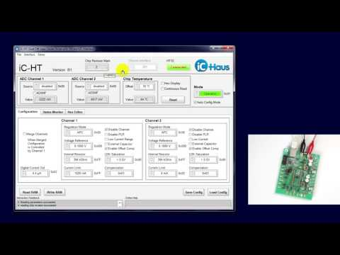LASER Diode Driver Tutorial: iC-HT Eval Board