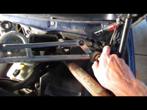 BMW E46 3-Series Wiper Motor Replacement DIY