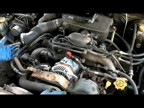 How To: 2005 Subaru Outback Plugs and Wires