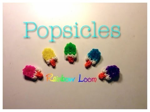 EASY Rainbow Loom Popsicle Charm