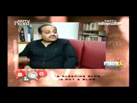Amit Agarwal on NDTV