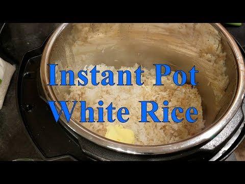 Instant Pot- White Rice