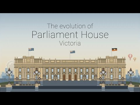 The Evolution of Parliament House Victoria