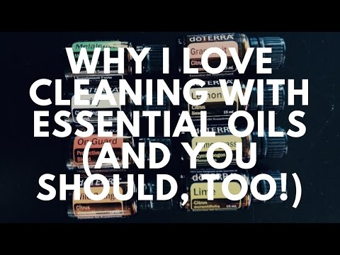 Why I Love Cleaning With Essential Oils (And You Should, Too!)