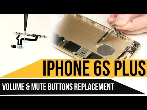 iPhone 6s Plus Volume Buttons Replacement Video Guide