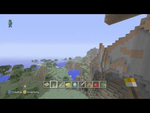 Minecraft Xbox 360/PS3 Seed - Desert Temple, Instant Emeralds/Diamonds, And Village