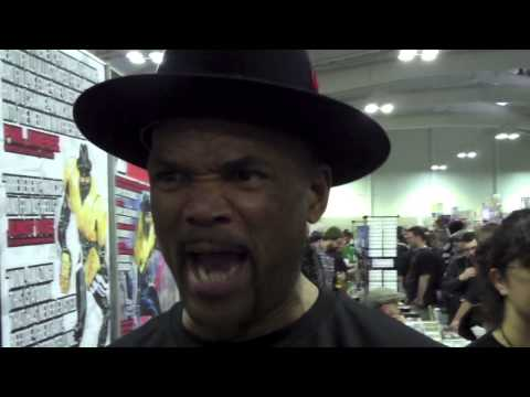A-Sides Interview: Darryl McDaniels/DMC at New York City Comic Con (10/14/2014)