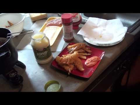 Beer Battered Chicken Tenders with Homemade French Fries (The Hungry Aggie)
