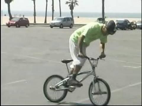 BMX Tricks & Safety : How to Fish Tail a BMX Bike
