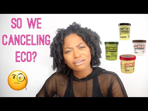 So we canceling ECO Style Gel?!? Y'all might be BIG MAD about my thoughts 🤷🏾‍♀️