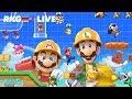 RKG Live Playing Fiendish Super Mario Maker 2 Levels